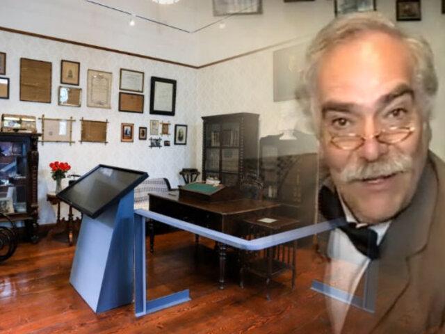 Conozca la restaurada Casa Museo Ricardo Palma en Miraflores