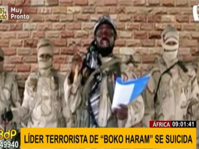 "África: Líder del grupo terrorista ""Boko Haram"" se quita la vida"