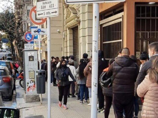 Peruanos acudieron a votar masivamente en Argentina, Ecuador y Suiza