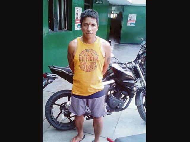 Condenan a más de 10 años de prisión a ladrón que robó celular en Trujillo