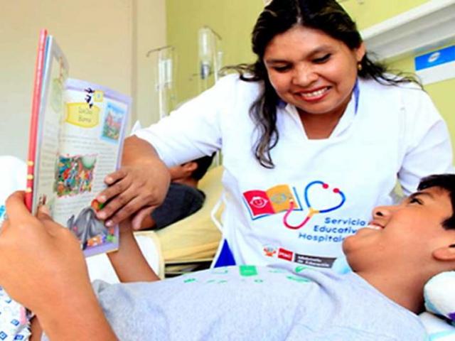 Estudiantes hospitalizados accederán a servicio gratuito de multiplataforma online