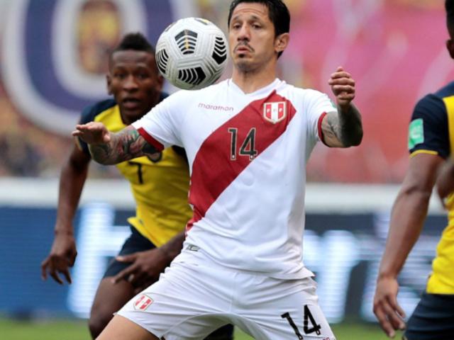 Gianluca Lapadula fue elogiado por la Serie A tras su actuación ante Ecuador