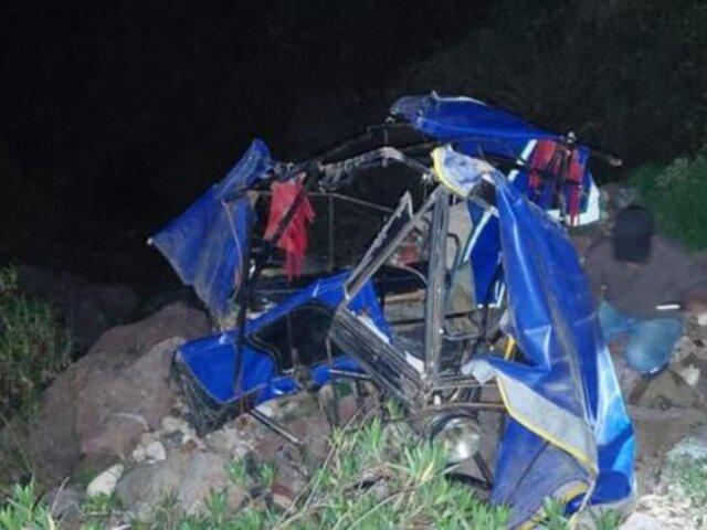 Tragedia en Huancavelica: niño pierde la vida tras despiste de mototaxi en la que viajaba