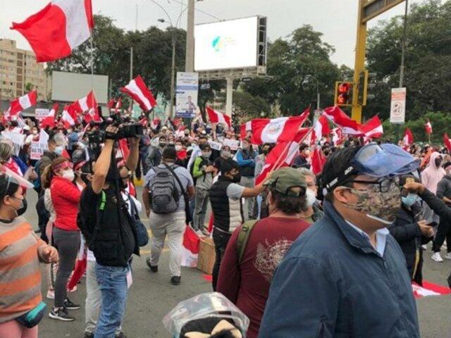 Mininter sobre marchas: Ciudadanos que actúen en contra de la ley serán intervenidos