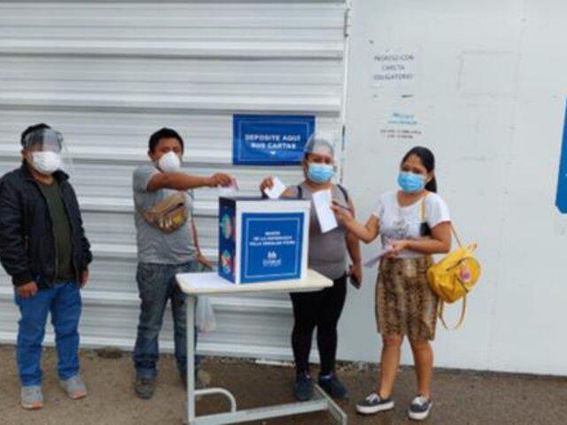 Piura: familiares de pacientes covid dejan mensajes de aliento para los hospitalizados a través de cartas