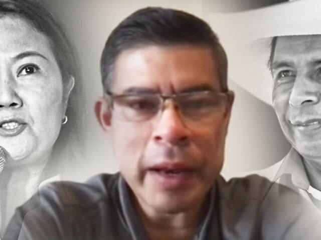 Luis Galarreta: Quien gane se tiene que aceptar, pero debe ser por votos válidos