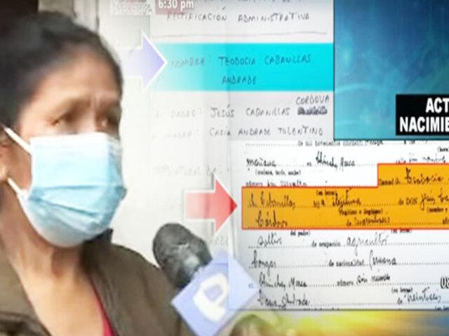Mujer de 60 años denuncia que no puede vacunarse ya que nunca tuvo DNI
