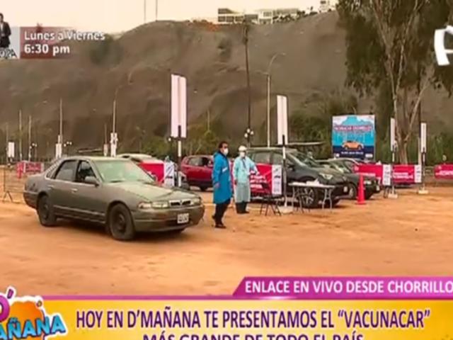 Conoce con nosotros el 'Vacunacar' más grande del país en Chorrillos