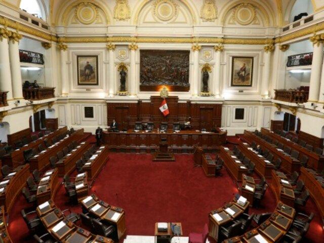 Congreso: se presentaron tres listas para presidir la Mesa Directiva