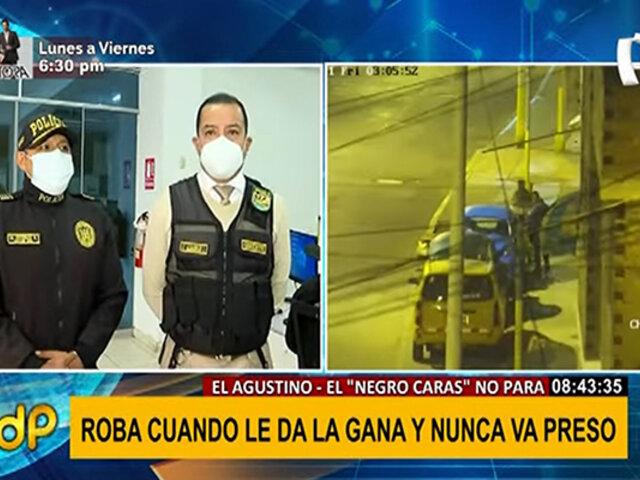 """El Agustino: """"negro caras"""" es liberado por tercera vez pese a tener 18 denuncias"""