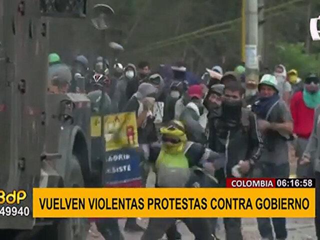 Colombia: protestas violentas contra la Policía continúan