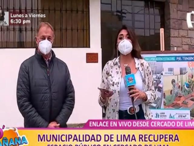 MML recupera espacios en pasaje Paiva