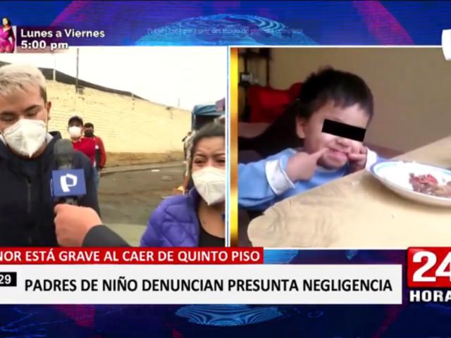 Denuncian que niño de cuatro años se encuentra al borde de la muerte por negligencia