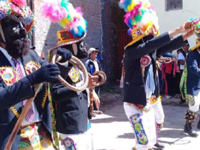 """Huancavelica: """"Danza Los Negritos de Marcas""""  fue declarada Patrimonio Cultural de la Nación"""