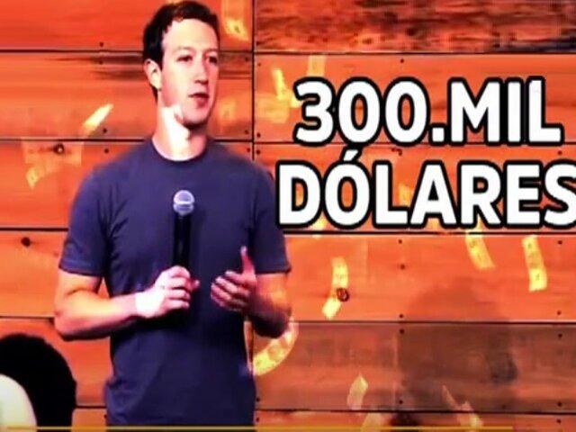¿Por qué un peruano demandó a Facebook por 300 mil dólares?