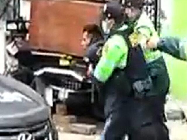 El Agustino: Policía ingresa a vivienda para detener a una persona y desata balacera