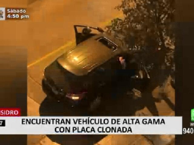 Recuperan camioneta de gama alta que era utilizada para realizar robos