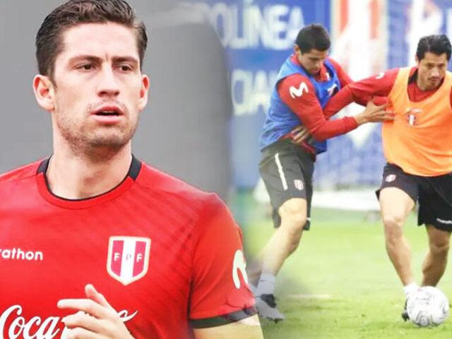 Santiago Ormeño entrenó por primera vez  con la Bicolor