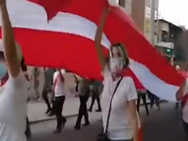 Simpatizantes de Fuerza Popular realizaron marcha en diferentes ciudades del país
