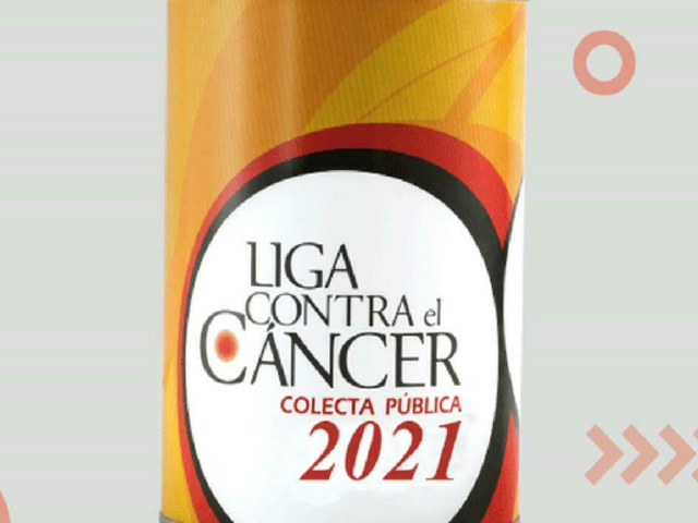 Este lunes inició la colecta de la Liga contra el cáncer 2021