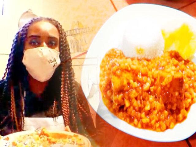 """La """"Negra Petróleo"""" te enseña a cocinar con solo 10 soles"""