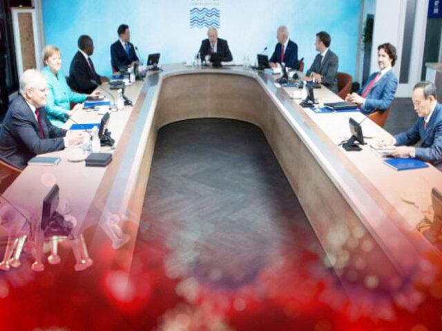 G-7 se comprometen a donar mil millones de vacunas contra la COVID-19 para 2022