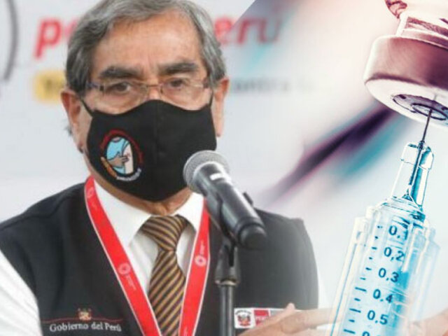 Minsa: Gobierno firma acuerdo para adquirir 1 millón de vacunas Sinopharm