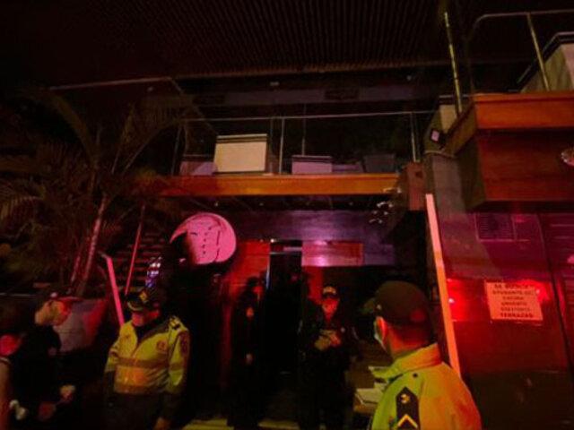 SJL: discoteca que organiza fiestas clandestinas fue intervenida por octava vez