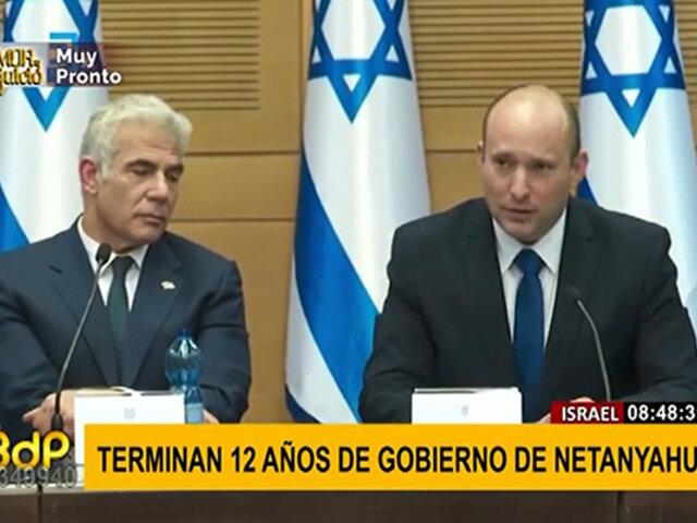 Israel elige nuevo primer ministro y termina con 12 años de Netanhayu en el poder