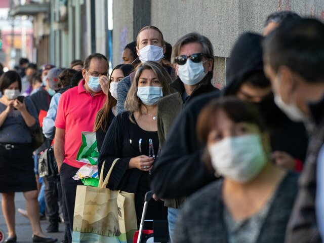 Chile: casos COVID-19 repuntan pese a fin de toque de queda
