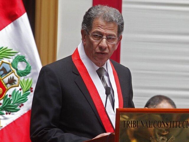Óscar Urviola asumió defensa de Fuerza Popular frente a todos los órganos competentes