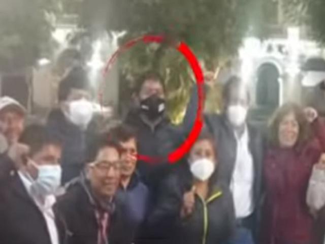 Reaparecen personajes vinculados al Movadef en marchas de Perú Libre