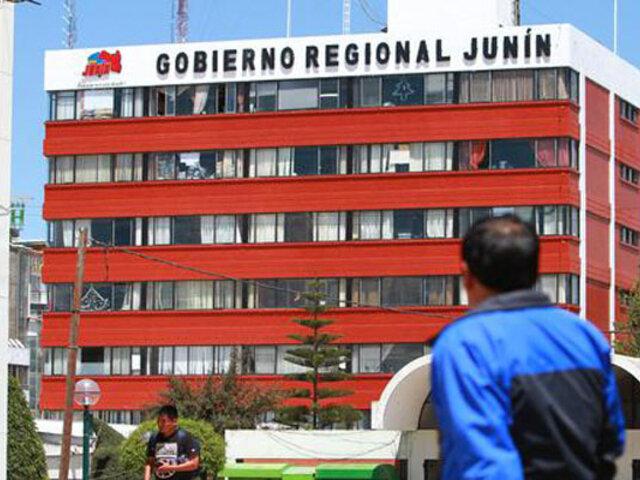 Junín: fiscalía allana oficinas de Transportes y Comunicaciones del Gobierno Regional