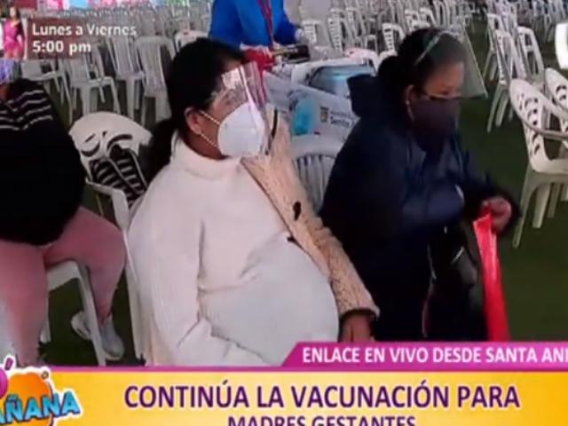 ¿Cómo va la vacunación para las mamás gestantes?