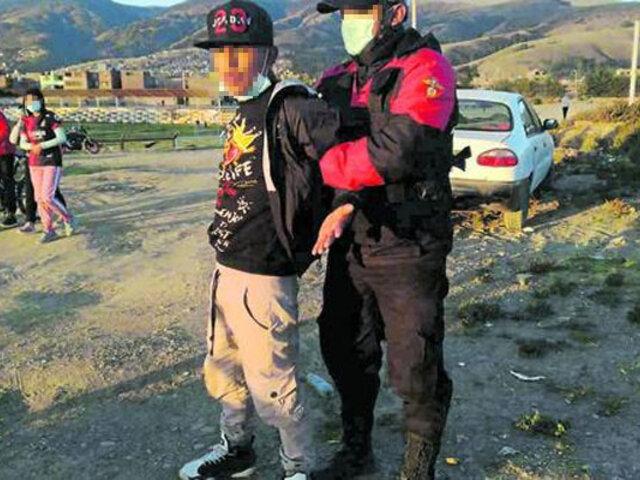 Huancayo: indignados vecinos capturan e intentan linchar a  ladrones