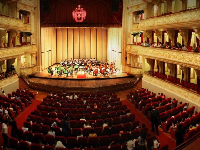 Teatro Municipal: realizaron la primera presentación con público tras cierre por el COVID-19