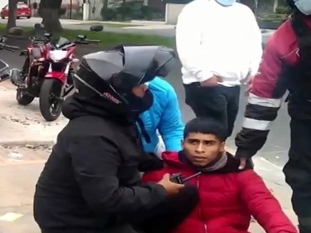 Pueblo Libre: detienen a delincuente que fingía ser repartidor de delivery