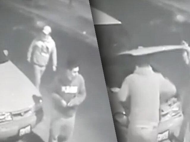 Continúan los robos de autopartes en pleno toque de queda