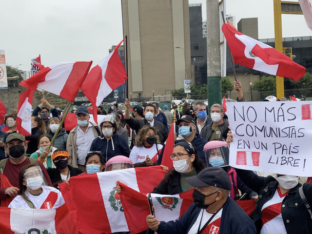 Hoy se realizarán marchas en el Perú y el extranjero exigiendo evaluación de actas con irregularidades