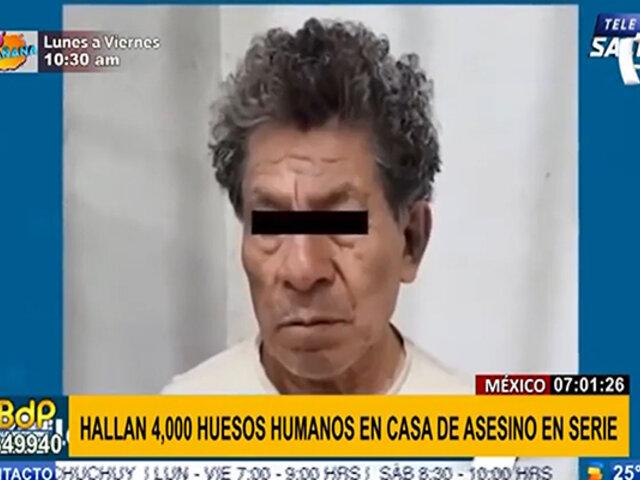 ¡Macabro! Policía mexicana halló 4,000 restos óseos humanos en casa de asesino en serie