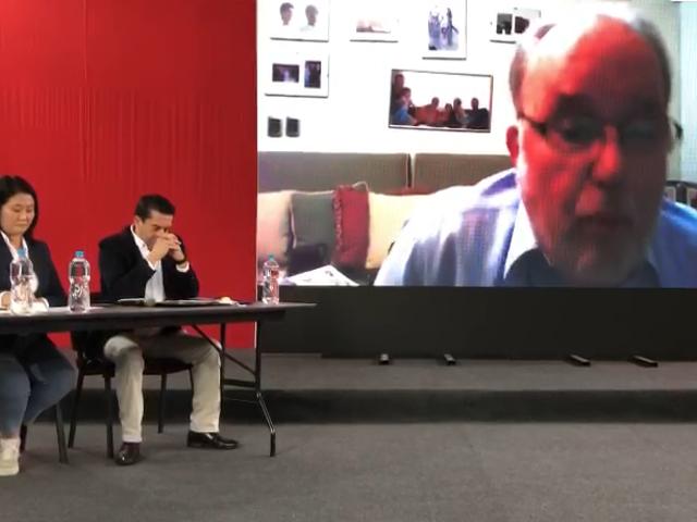 García Belaunde anuncia que Fuerza Popular presentará acción de hábeas data ante la ONPE