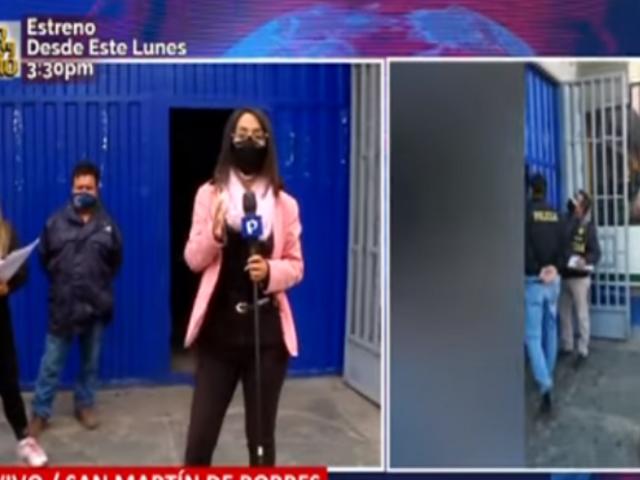SJL: denuncian que supuestos policías robaron 70 balones de gas y S/ 20 mil de distribuidora