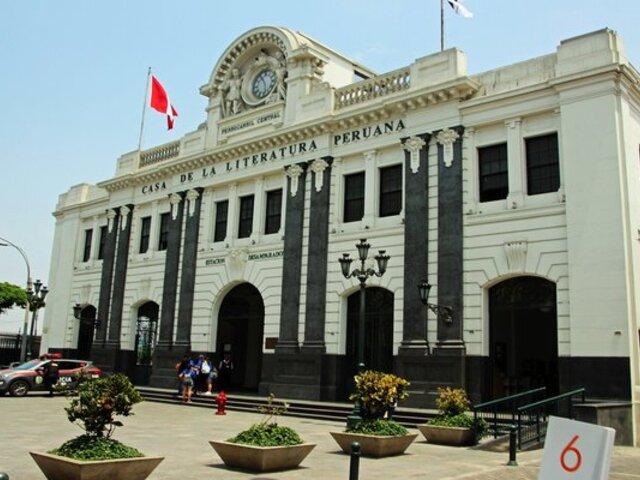 Casa de la Literatura Peruana reiniciará gradualmente sus servicios presenciales