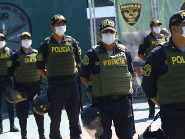 Policía Nacional logró inmunidad de rebaño en Lima