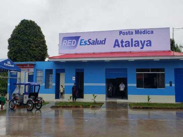 Ucayali: EsSalud inauguró un centro médico en la localidad fronteriza de Atalaya