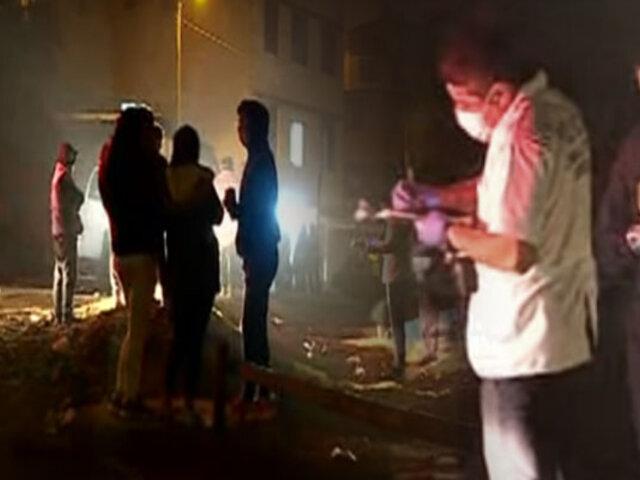 Joven fue asesinado de doce balazos en Puente Piedra