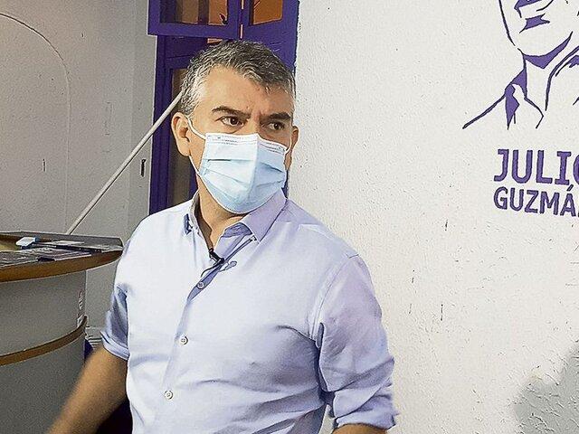 Tras declaraciones de Cerrón: Julio Guzmán afirma que nunca pidió ser parte del gobierno de Pedro Castillo