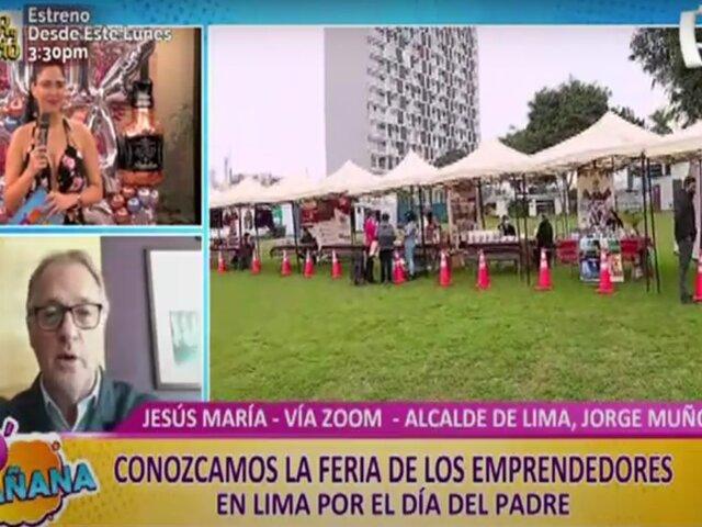 Municipalidad de Lima organiza Feria de Emprendedores para hallar el mejor regalo del Día del Padre