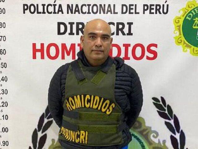 Capturan en Lima a sujeto que era buscado por el asesinato de su expareja en Arequipa