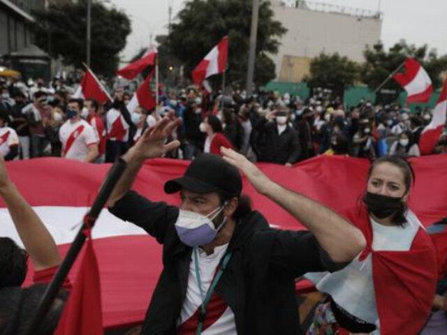Elecciones 2021: 3 mil agentes mantienen el orden y seguridad ante movilizaciones políticas